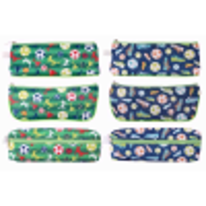 """Picture of Just stationery """"Football Design"""" Pencil Case"""