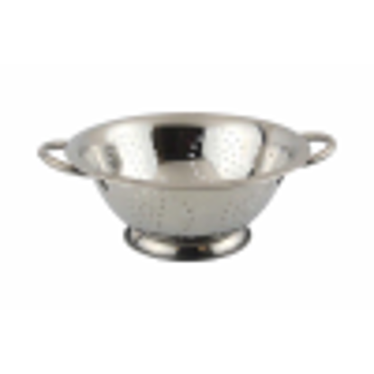 Picture of Apollo 3 qt Stainless Steel Colander, Silver