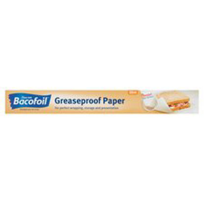 Picture of Bacofoil Greaseproof Paper 38Cmx10mtr