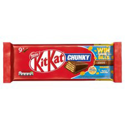 Picture of Kit Kat Chunky Snacksize Bars (9X32g)