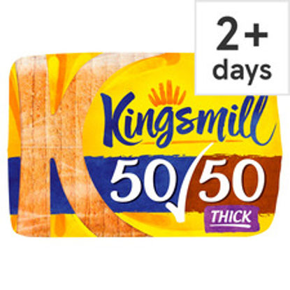 Picture of Kingsmill 50/50 Thick Bread 800G
