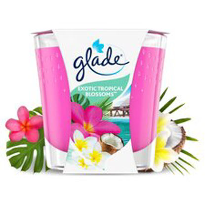 Picture of Glade Candle Tropical Blossoms Air Freshener 129G