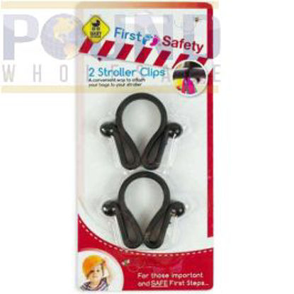 Picture of FIRST STEPS 2 STROLLER CLIPS(SP8)