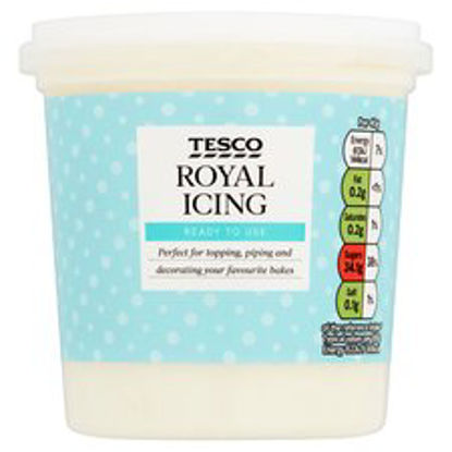 Picture of Tesco Royal Icing 400G