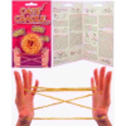 Picture of NEW CATS CRADLE STRING GAMES TRADITIONAL TOY HB