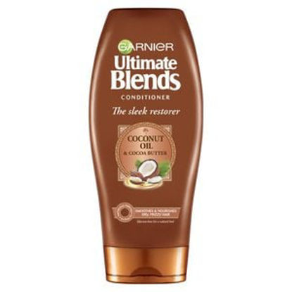 Picture of Garnier Ultimate Blends Coconut Oil Conditioner Frizzy Hair 360Ml