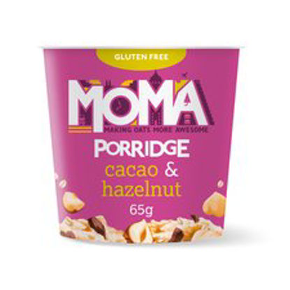 Picture of Moma Porridge Cacao & Hazelnut Pot 65G