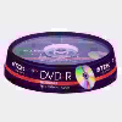 Picture of TDK - 10 x DVD-R 4.7 GB 16x - Spindle - Storage Media