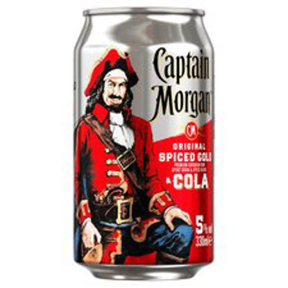 Picture of Captain Morgan Spiced Rum And Cola 330Ml