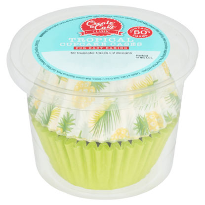Picture of Create A Cake Classic Tropical Cupcake Cases 50