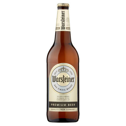 Picture of Warsteiner Premium Lager 660Ml