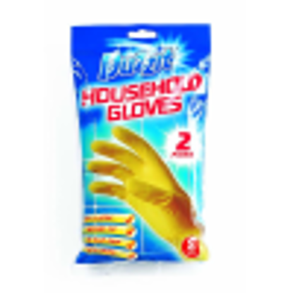 Picture of Duzzit Household Gloves - 2 Pack - Small