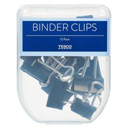 Picture of Tesco Binder Clips