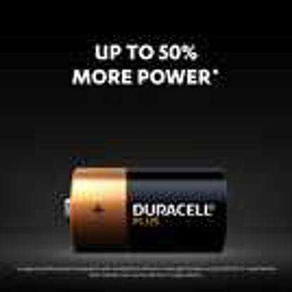 Picture of Duracell Plus 2 Pack C Batteries