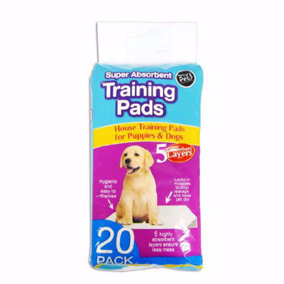 Picture of Pack of 20 Super Absorbent Premium Puppy Dog Training Pads 60 x 45cm by World of Pets