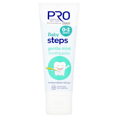 Picture of Pro Formula Baby Steps Gently/Gentle Mint Toothpaste 0-2 75Ml