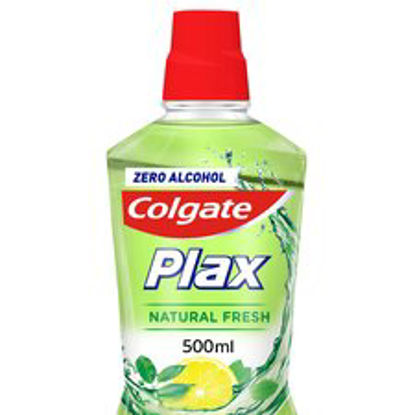 Picture of Colgate Plax Natural Fresh Mouthwash 500Ml