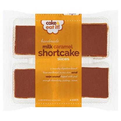 Picture of Cake & Eat It! 4 Handmade Milk Caramel Shortcake Slices