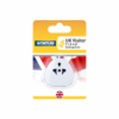 Picture of Status 13 A UK Visitor Adaptor - Pack of 3