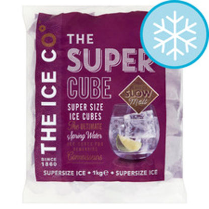 Picture of The Ice Co. Super Cubes 1Kg