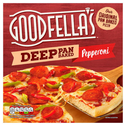 Picture of Goodfella's Deep Pepperoni Pizza 415G