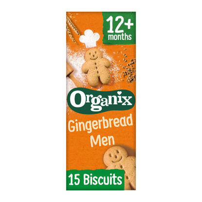 Picture of Organix Gingerbread Men 135G