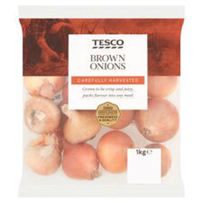 Picture of Tesco Brown Onions 1Kg