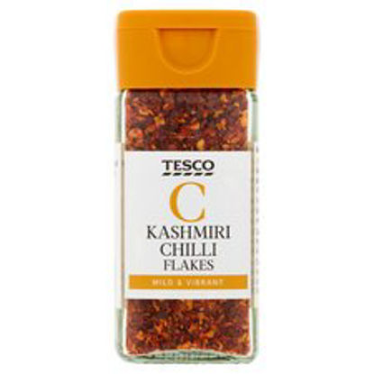 Picture of Tesco Kashmiri Chilli Flakes 27G