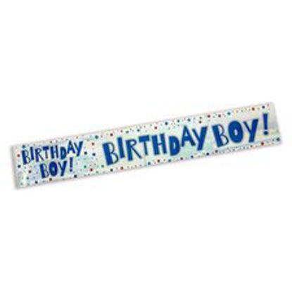 Picture of Tesco Birthday Boy Holo Banner