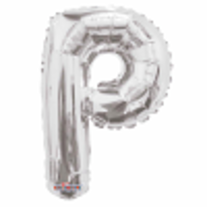 Picture of SILVER LETTER BALLOON P 14INCH