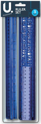 Picture of Ruler Set - 3 Piece