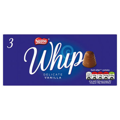 Picture of Whip Vanilla Chocolate Multipack 27.8g 3 Pack