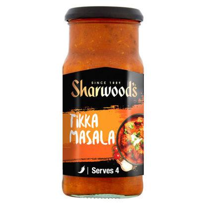Picture of Sharwoods Tikka Masala Mild-Med Sauce 420G