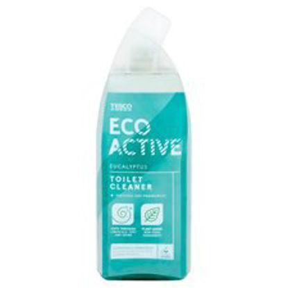 Picture of Tesco Eco-Activ Toilet Cleaner Eucalyptus 750Ml