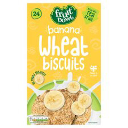 Picture of Fruit Bowl Banana Wheat Biscuit 24 450G