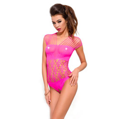 Picture of Passion Net Body Stocking Pink