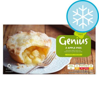 Picture of Genius 2 Gluten Free Apple Pies 320G