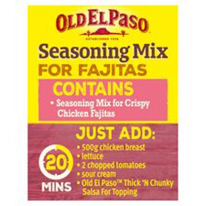 Picture of Old El Paso Crispyckn Fajita Spice Mix 85G