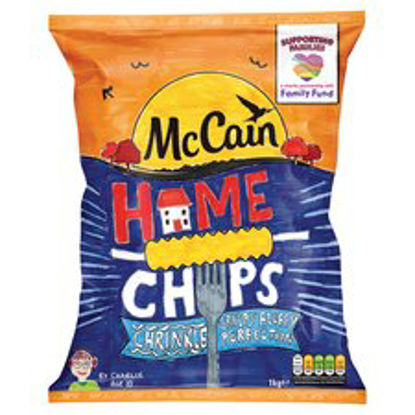 Picture of Mccain Crinkle Cut Home Chips 1Kg
