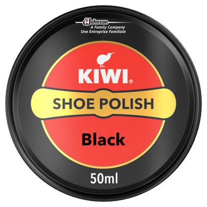Picture of Kiwi 50 Ml Black Shoe Polish Black 50ml