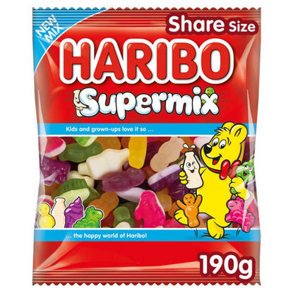 Picture of Haribo Super Mix Bag 190G