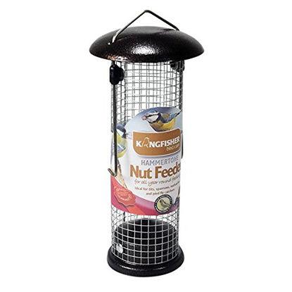 Picture of Kingfisher BF041 Premium Hammer Tone Finish Bird Nut Feeder - Dark Brown