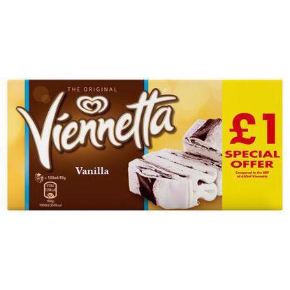Picture of Walls Viennetta Vanilla 650Ml Price Marked