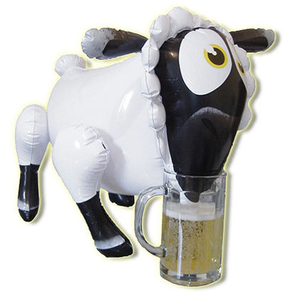 Picture of Lady Bah Bah Inflatable Sheep