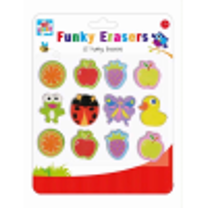 Picture of FUNKY ERASERS (QTY 12)