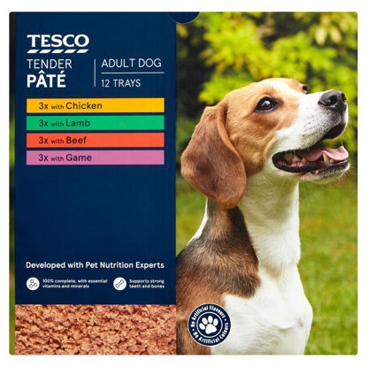 Picture of Tesco Tender Pate Selection 12 X 150G