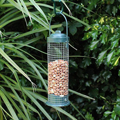 Picture of Kingfisher BF027 Green Standard Bird Nut Feeder - Green