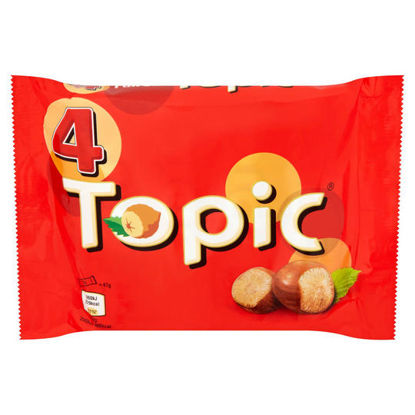 Picture of Topic Chocolate Bar, 188 g - Pack of 4