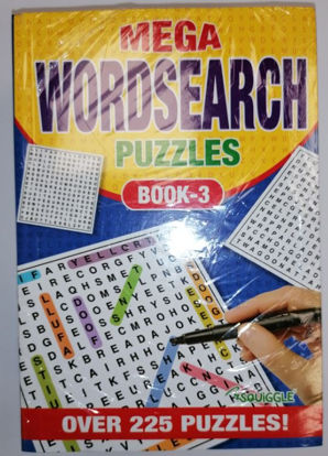 Picture of A5 Mega Word Search Puzzles Book - 21 x 14.5cm