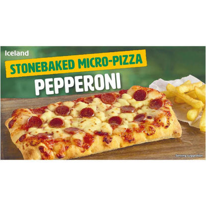 Picture of Iceland Microwave Pizza Pepperoni 160g